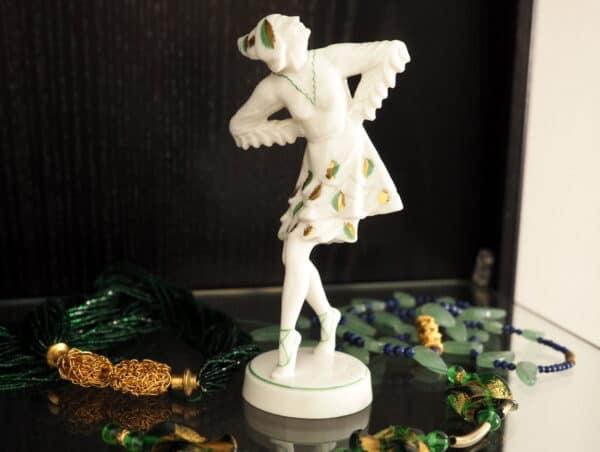Porzellanfigur Hutschenreuther Art Deco